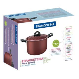Espagueteira Tramontina Loreto 22cm Vermelha