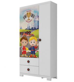 Guarda-Roupa Infantil Estrela Super Power