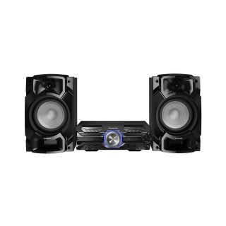 Mini System Panasonic SC-AKX520LBK 2 USB Bluetooth 580W RMS