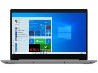 Notebook Lenovo I3 S145 4GB, 1TB, Windows 10,  Tela 15.6 Prata