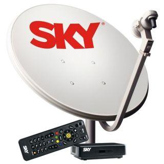 Kit Sky Pré-Pago Conforto HD Antena + Receptor