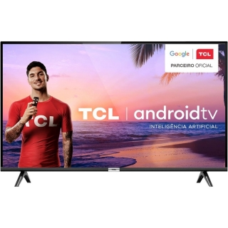 """Smart TV 32"""" TCL 32S6500 HD AndroidTv 2 HDMI 1 USB Wi-Fi"""