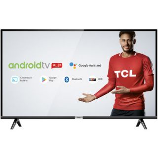 "Smart TV LED 32"" TCL 32S6500 Full HD HDR Android, Bluetooth Com Inteligência Artificial Google Assistant"