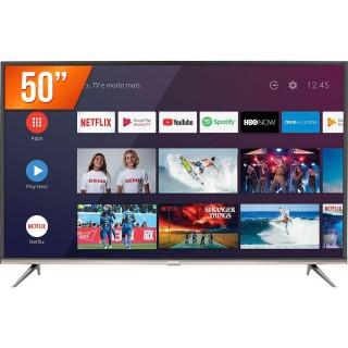Smart TV LED Semp 50? Ultra HD 4K 50SK8300 3 HDMI 2 USB Inteligência Artificial