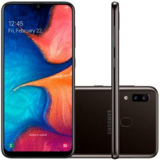 Smartphone Samsung Galaxy A20 32GB Dual Chip Android 9.0 Tela 6.4