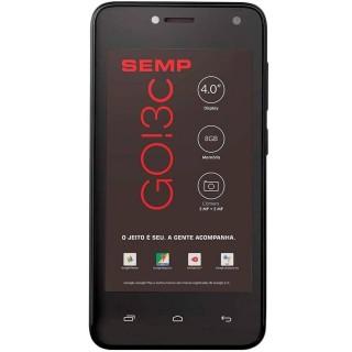 """Smartphone Semp Go! 3C 8GB 5MP Tela 4"""" Preto"""