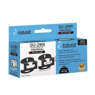 Suporte TV Indusat Universal Aço Carbono SU.290I TV 10 A 85 Polegadas