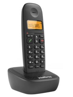 Telefone Sem Fio Intelbras TS 2510 Identificador de Chamada e Tecnologia DECT 6.0  Preto