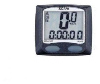 Velocímetro Digital AS220 Assize Preto