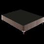 Box para Colchão Paropas Rústico Marrom 188X138X30 (Somente Box)