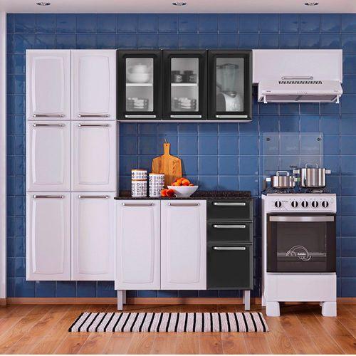 Armário Cozinha Luce Compacta 4 Peças