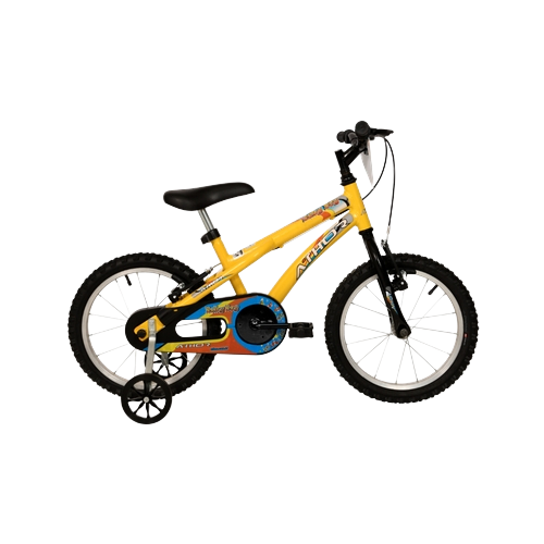 Bicicleta Athor Aro 16 Baby Boy Amarela