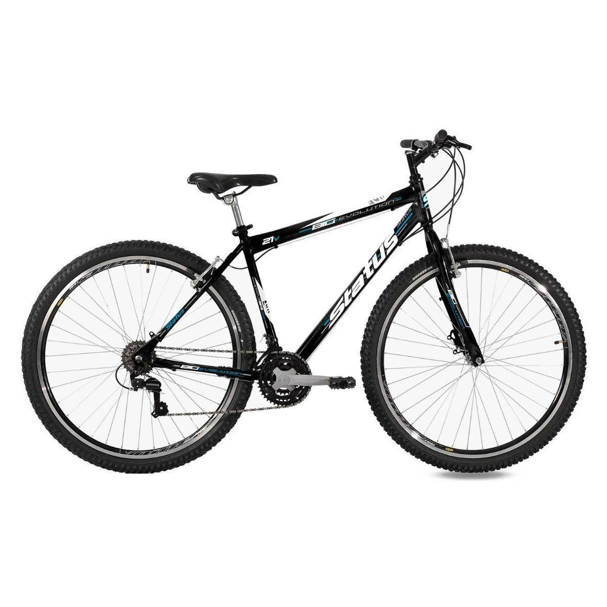 Bicicleta Status Big Evolution Aro 29 V-Brake - Preto