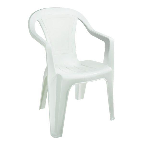 Cadeira Plástica Pnaples Ibiza Branca
