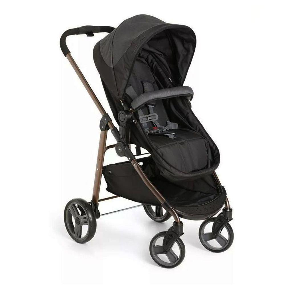 Carrinho de Bebê Galzerano Olympus Black