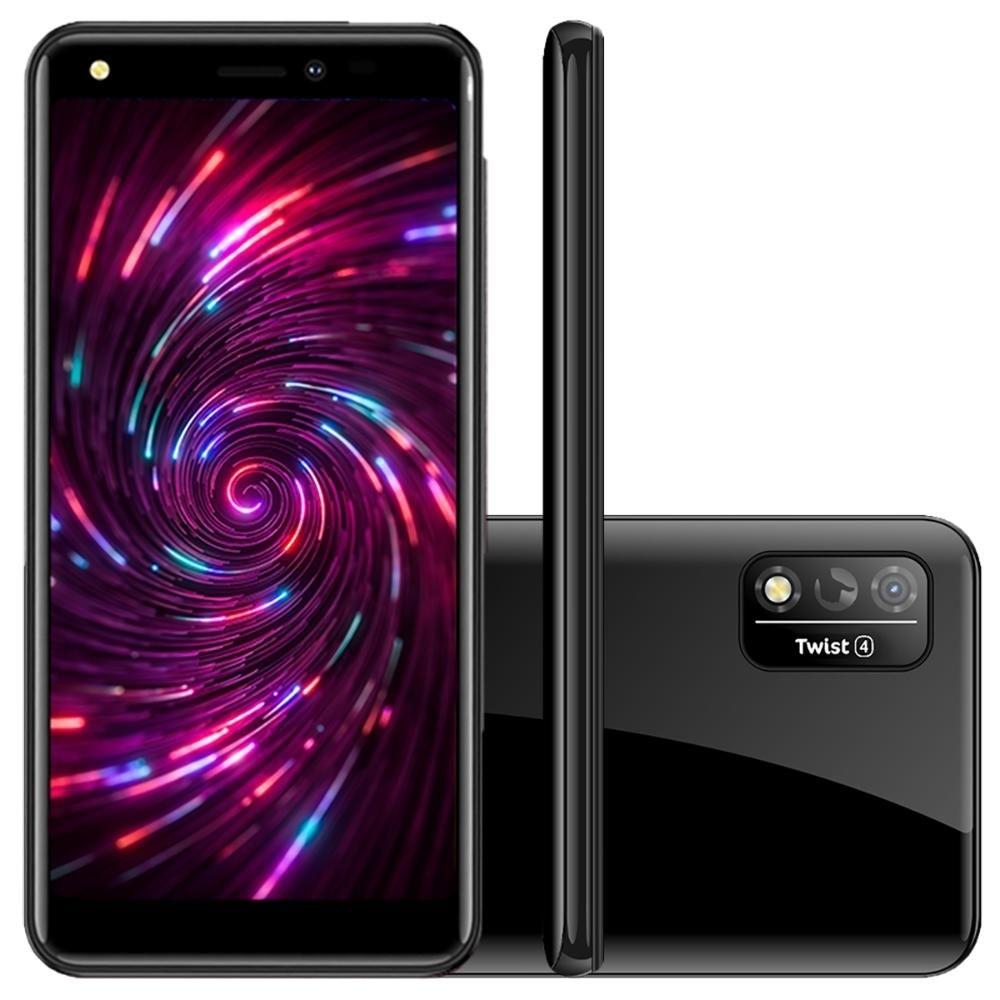 Celular / Smartphone Positivo S514 Twist 4 64GB 1G RAM Quad-Core