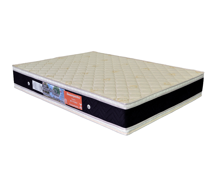 Colchão Sonolíder D45 Saúde Vida Pillow Plus Casal 188X138X25