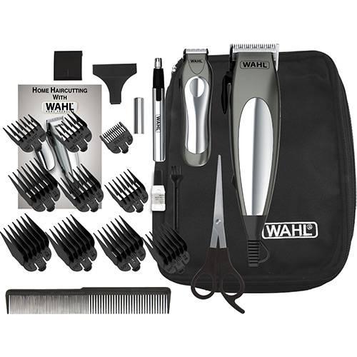 Máquina De Cortar Cabelo Wahl Kit Deluxe