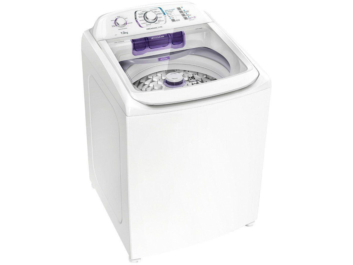 Máquina de Lavar Electrolux 13 KG LPR13 com Dispenser Autolimpante e Tecnologia Jet&Clean 127V