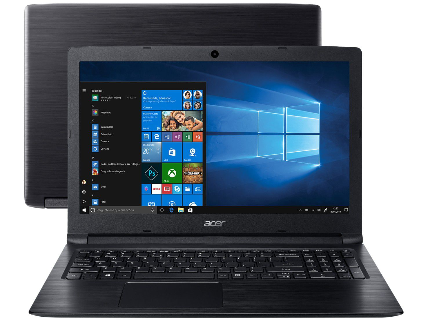 Notebook Acer A315-53-55DD Intel Core I5 4GB 1TB LED 15,6