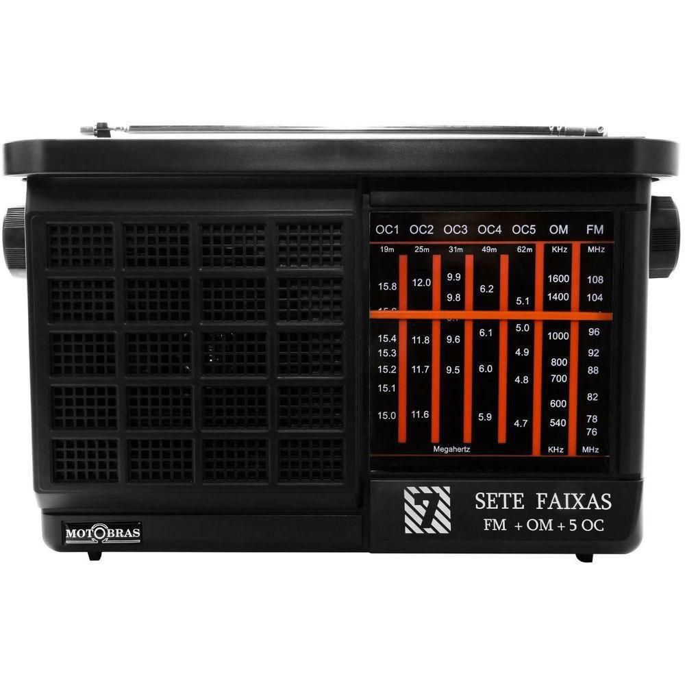 Rádio Motobras Recept 7FX RM PFT73AC