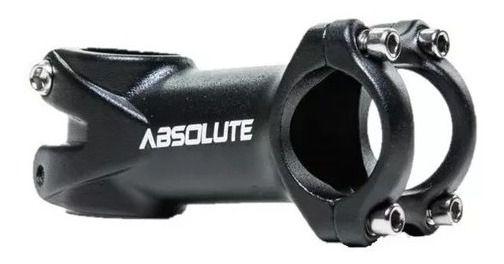 Suporte Guidão Avanço Mesa Absolute Nero Aluminio HL061 31.8mm 60mm 6°