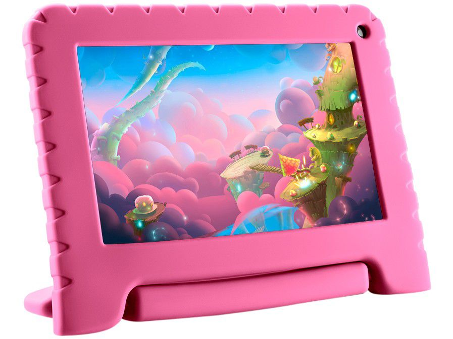 """Tablet Multilaser Kid Pad NB303 Quad-Core 8GB 7"""" Wi-Fi Android 8.1"""