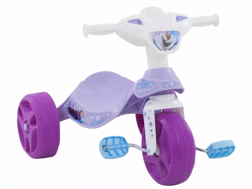 Velotrol Infantil Bandeirante Tico Tico Frozen REF 2483