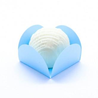 Forminha Caixeta Candy color - Azul - 50 unidades