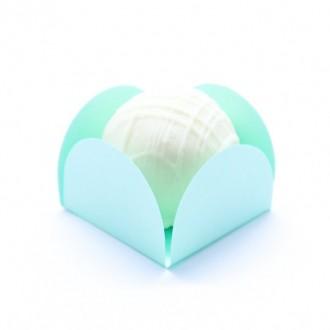 Forminha Caixeta Candy color - Verde - 50 unidades