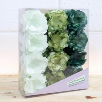Forminha para doce - Stefani 3 Tons de verde - 40 unid.
