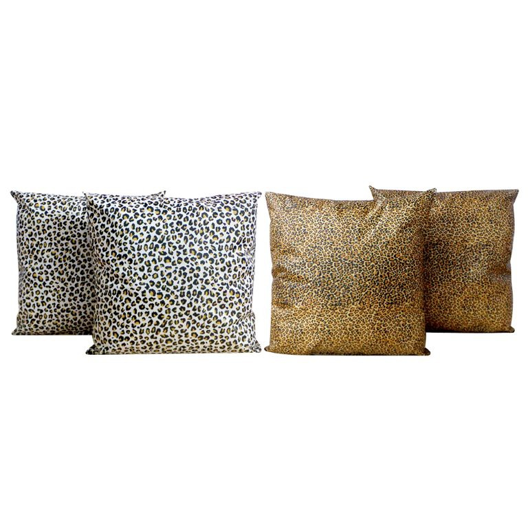Almofadas Animal Print 1 BHIOSFERA HOUSE 45x45cm - KIT 4UN.