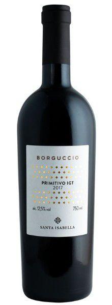 Vinho Borguccio Primitivo Igt 2017 Tinto Itália 750ml