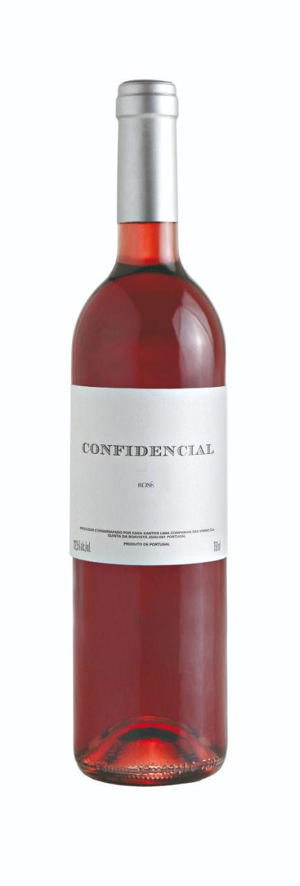 Vinho Confidencial Rosé