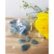 ÁGUA MARINHA BRUTA - PACOTE COM 10g (2 a 4 pedras)