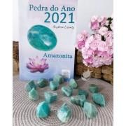 AMAZONITA BRUTA - UNIDADE - 2 a 3 cm - (10 A 15g) - PEDRA DO ANO 2021