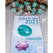 AMAZONITA BRUTA - UNIDADE - 3 a 4 cm - (20 a 30g) - PEDRA DO ANO 2021