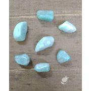 AMAZONITA ROLADA - PACOTE 40g -  6 a 7 pedras