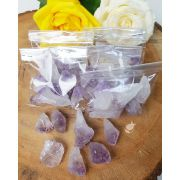 AMETISTA BRUTA - PACOTE COM 50g (6 a 8 pedras)
