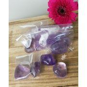 AMETISTA ROLADA - PACOTE COM 50g (3 a 5 pedras)
