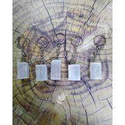 CHAVEIRO SELENITA BRANCA - UNIDADE - 2,5 A 3,2 cm