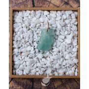 PINGENTE  ÁGUA MARINHA BRUTA - 2,5 cm