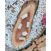 PINGENTE PETALITA BRUTA - UNIDADE -  2 a 2,5 cm