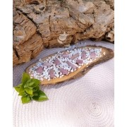 PINGENTE TURMALINA ROSA BRUTA - UNIDADE - 1 a 2 cm