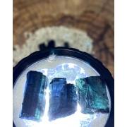 TURMALINA AZUL BRUTA - UNIDADE - 1,5 a 2,8 cm (3,8 a 4,5g)