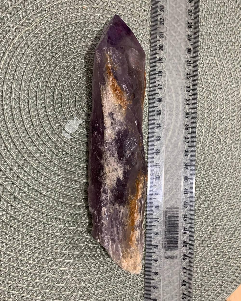 AMETISTA BRUTA - 17 cm (296g)