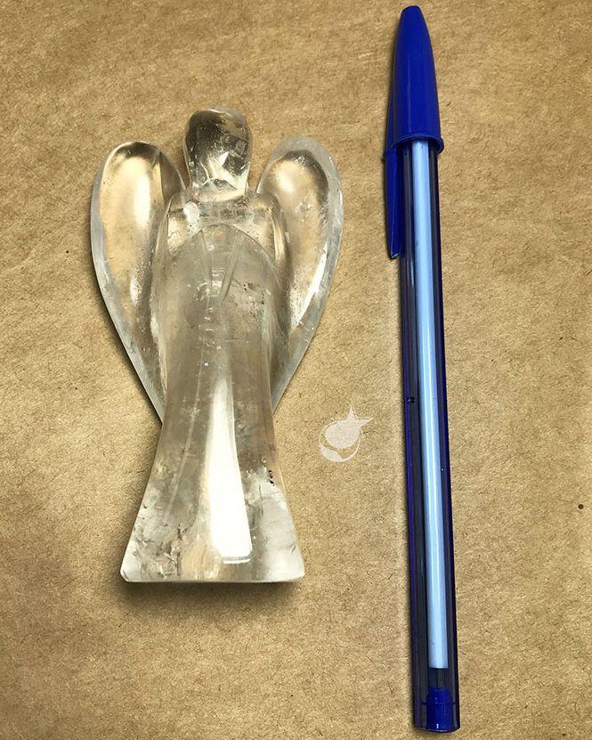ANJO DE CRISTAL 9 cm