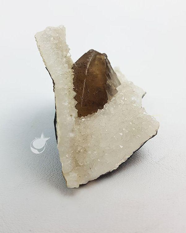 APOFILITA COM CALCITA - COLECIONADOR - 7,2 cm