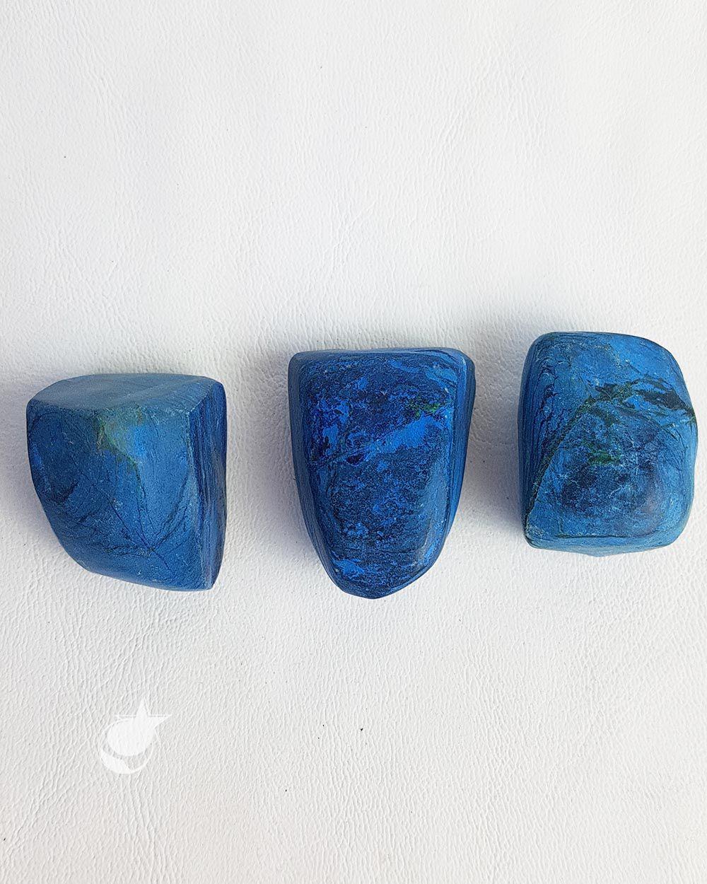 AZURITA ROLADA - UNIDADE -  2,5 a 3 cm