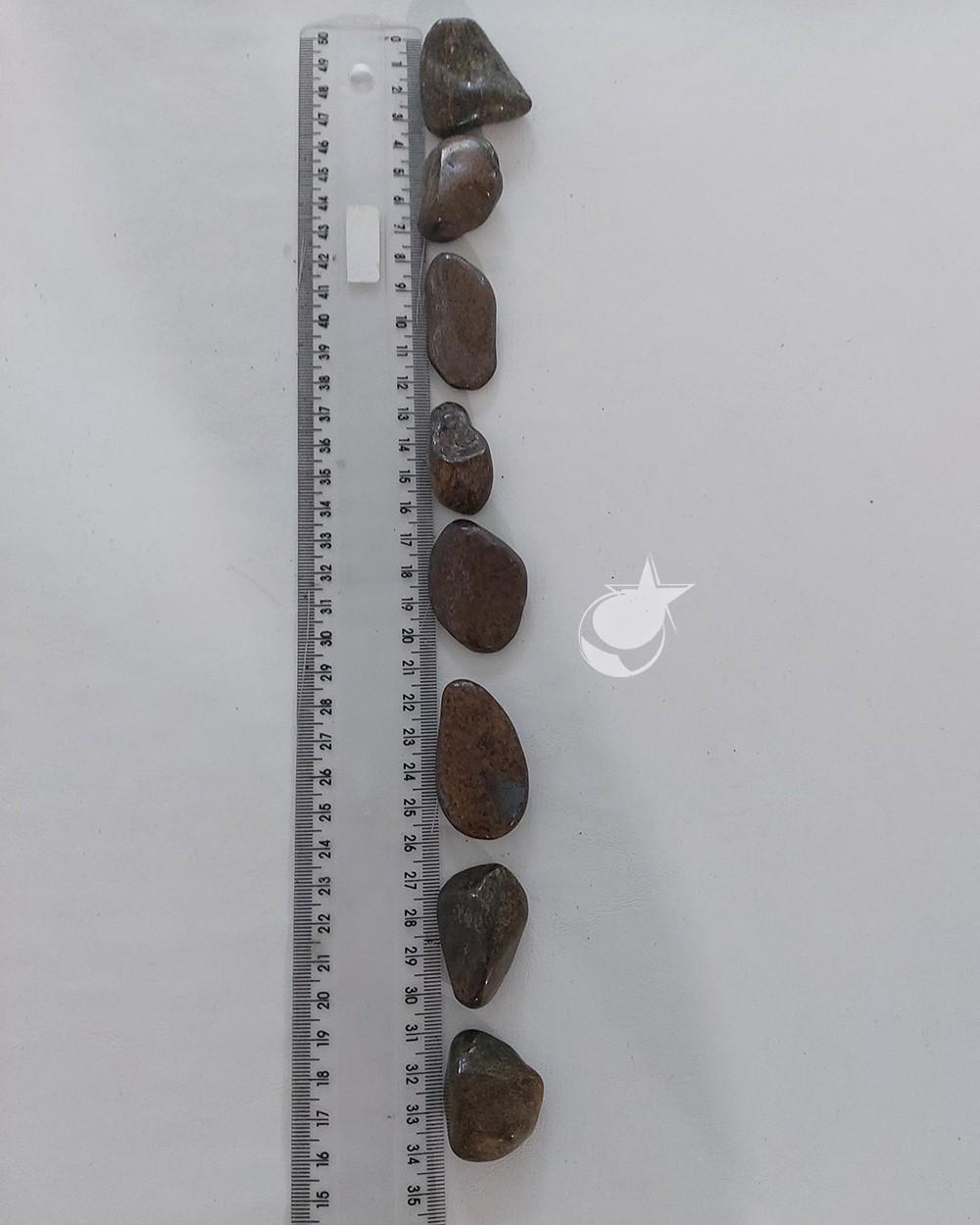 BRONZITA ROLADA - UNIDADE - 3 a 4 cm - (21 a 25g)